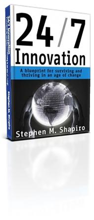 24/7 Innovation Book by Stephen Shapiro