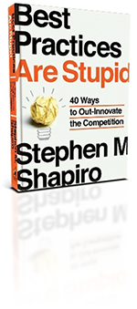books about innovation: best practices are stupid