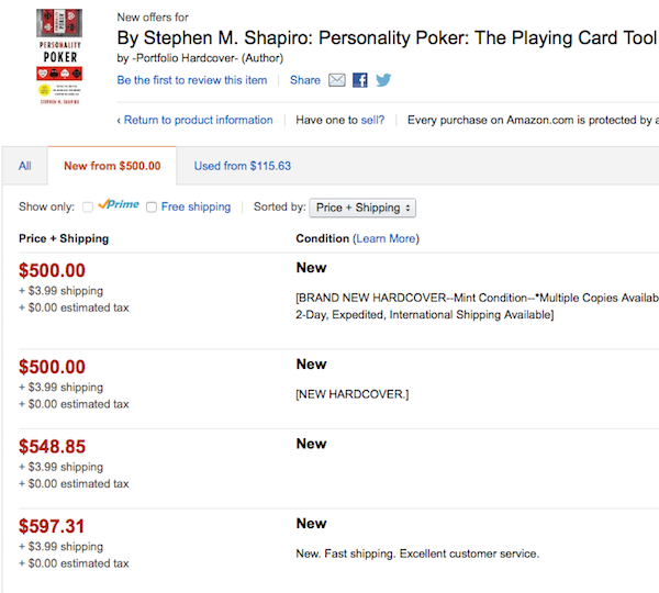 poker on amazon copy