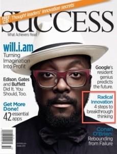 SUCCESS Magazine article on innovation