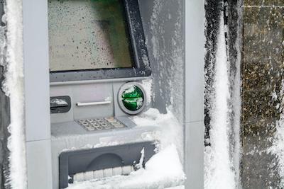 ATM in Blizzard